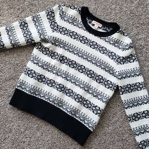 BROOKS BROTHERS Lambs Wool Fair Isle Sweater